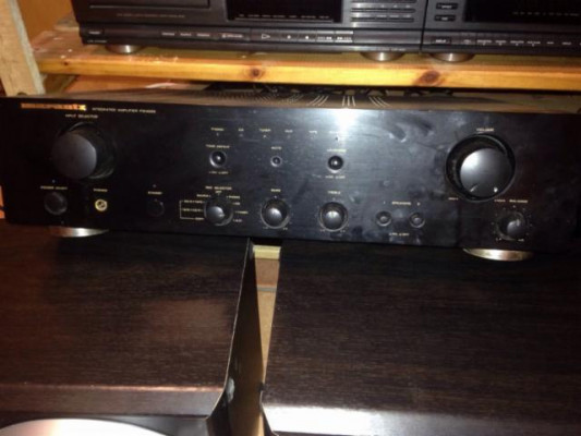 Amplificador Marantz PM4000+Columnas Tecnics SB-DV250