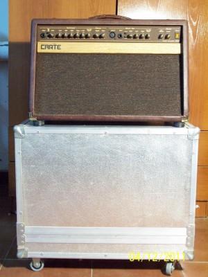 Amplificador Instrumentos Acústicos Crate CA60