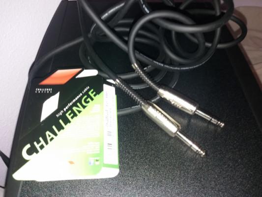 6 cables Jack balanceados y 2 XLR