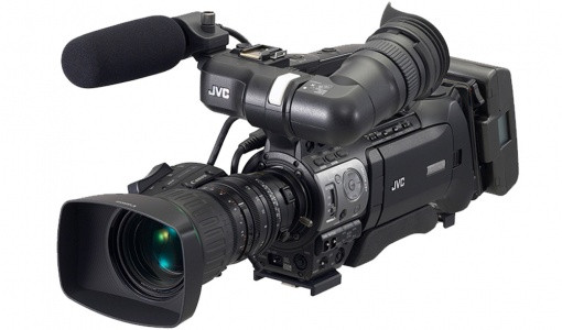 Cámara JVC PRO HD GY-HM750E