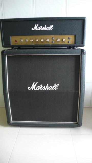 "Pantalla Marshall 1965B  2x12"". O CAMBIO por Orange 2x12"" abierta"