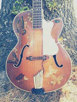 Guitarra antigua, Hofner President del 1952