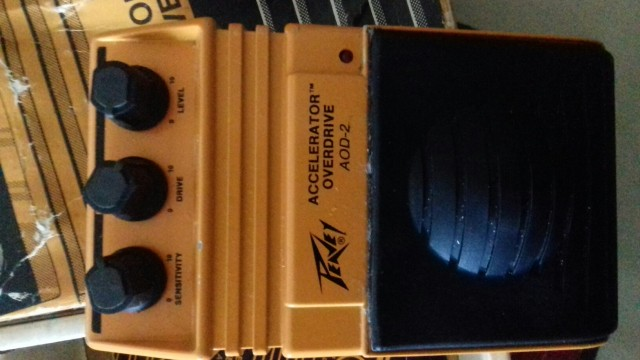 pedal peavey overdrive