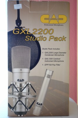 CAD Audio GXL 2200 Studio Pack