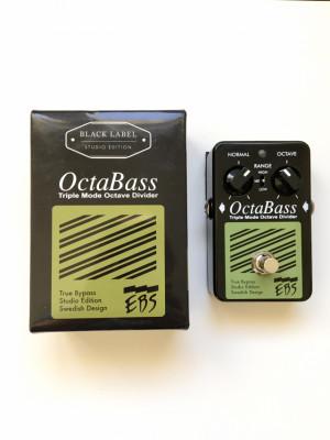 EBS Octabass Black Label Studio Edition