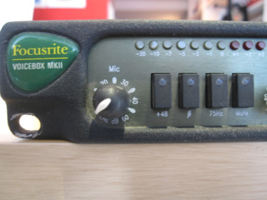 Previo Focusrite VoiceBox MKII Green Rack