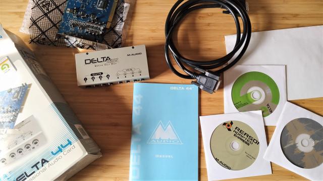 Interface de audio M-Audio Delta 44