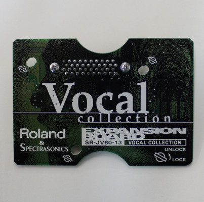 Expansion Roland SR-JV-80-13 Vocal Collection