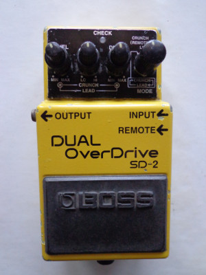 / Cambio Boss Dual Overdrive SD-2