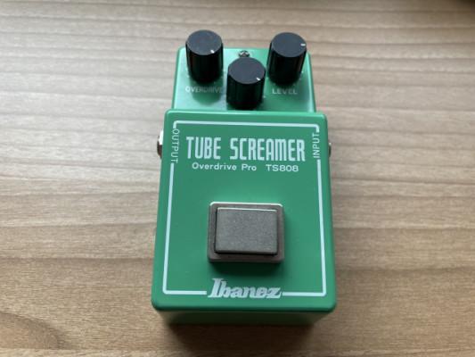 ibanez tube screamer overdrive pro ts-808 y Boss tu-3