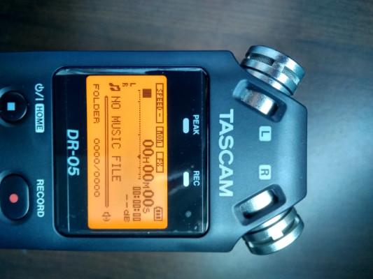 Cambio o vendo: Grabadora TASCAM DR-05 [V2]