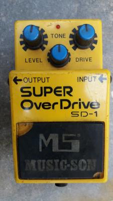 MUSICSON SUPER OVERDRIVE SD1