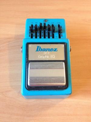 Vendo IBANEZ GE9 Graphic EQ pedal ecualizador