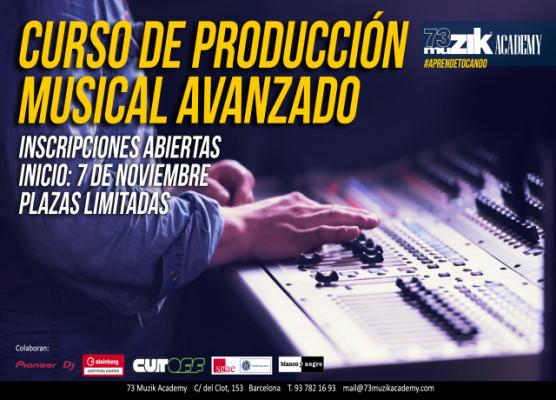 Curso producción musical avanzado
