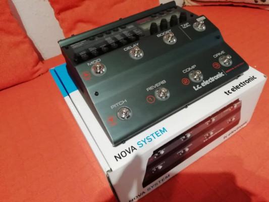 tc Electronic NOVA SYSTEM Pedalera Nueva a estrenar