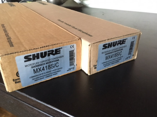SHURE MX 418 S/C + BASES THE T-BONE