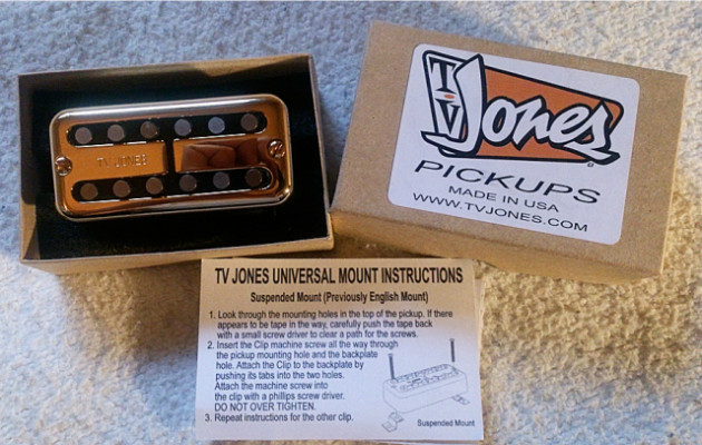 TV Jones Magnatron Neck Gold