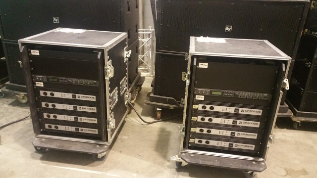Line array E voice XLD