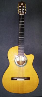 Guitarra española electroclásica Alhambra 5p cw2
