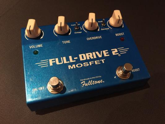 Pedal Fulltone Full-Drive 2. Mosfet