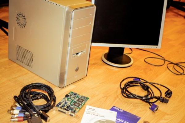 Ordenador Pentium Intel 4 núcleos con tarjeta Focusrite Saffire