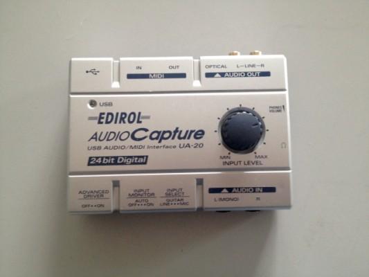Edirol audio capture UA-20