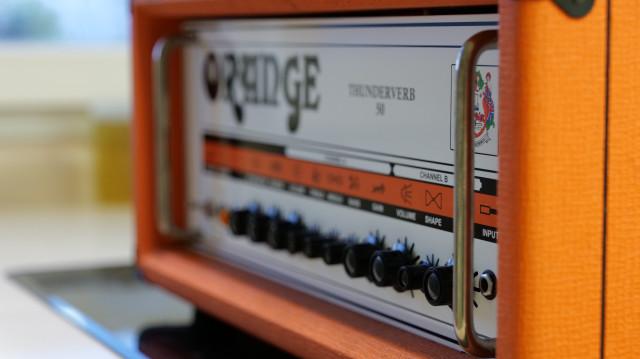 CABEZAL ORANGE THUNDERVERB 50w MADE IN ENGLAND.