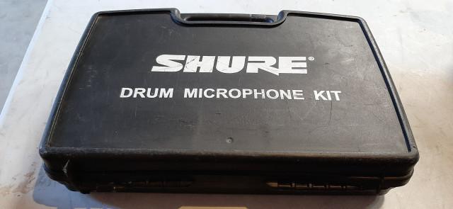 Set bateria Shure PG