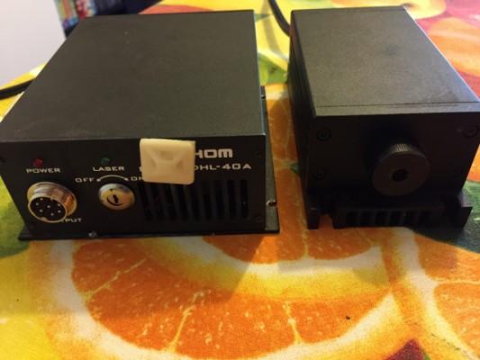 Módulo laser verde de 400mw
