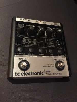 Pedal Delay Tc Electronic Nova Repeater RPT-1