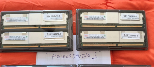 16gb Memoria servidor Hynix- Mac pros 1.1, 2,1, 3,1 envío incluido