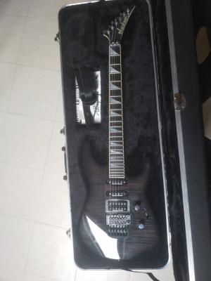 Jackson USA Custom Soloist SL-1 Transparent Black 2004