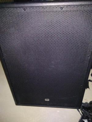 Dap audio subwoofer amplificado de 15, 600 w RMS, 131 db, envío incluido