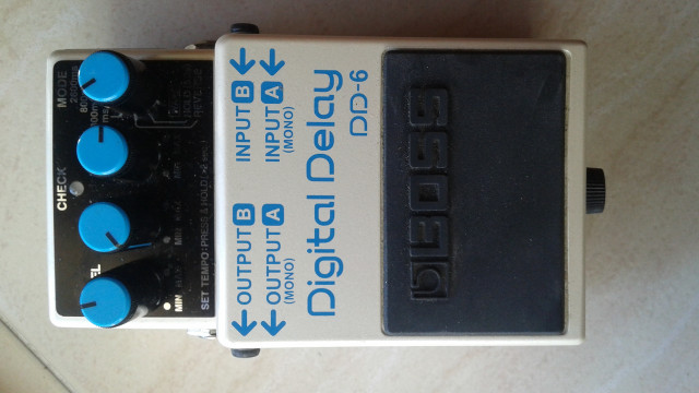 Digital Delay DD-6 de Boss