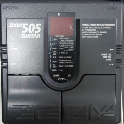 PEDAL ZOOM 505