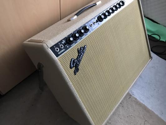 Fender Twin Rever 40 aniversario blonde