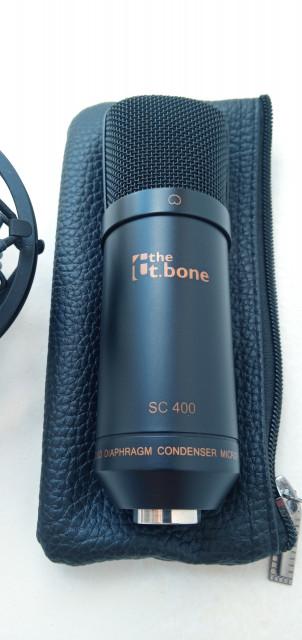 Cambio Micrófono de condensador gran diafragma T BONE SC 400