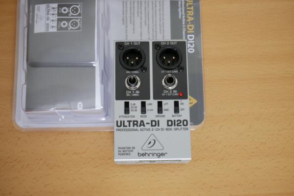 Caja de inyección Behringer DI20