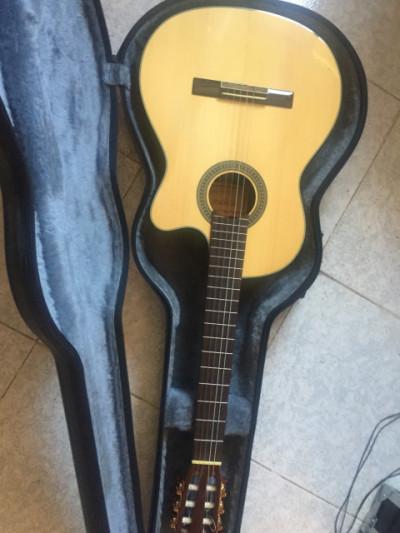 Guitarra electroacustica VERACRUZ