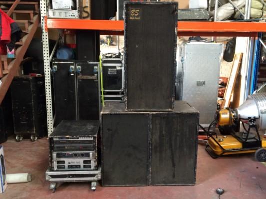 Se vende equipo de sonido 8.000 Vatios