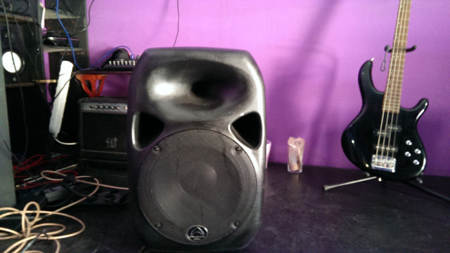 Wharfedale P.A Speakers inc Stands
