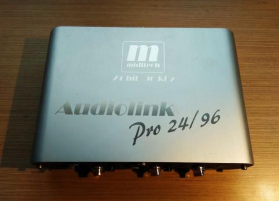 Interfaz Miditech Audiolink Pro 24/96