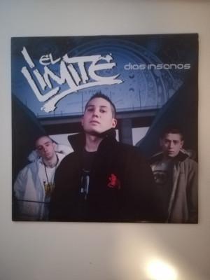 Vinilo hip hop rap El Límite días insanos hip hop