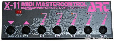 Pedalera MIDI ART x11 Master control