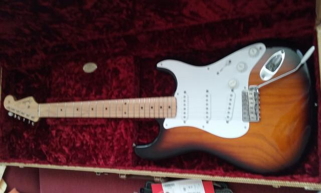 Fender stratocaster american vintage 54 año 2014