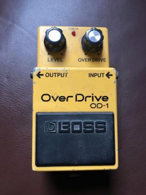 Boss Overdrive OD-1 80's envío incluido!