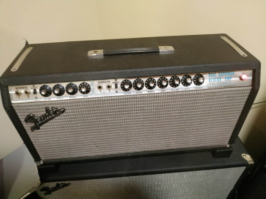 Fender dual showman silverface.