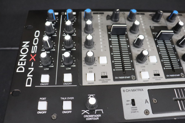 Denon DN-X500 Mesa de mezcla DJ Analógico 4 +2