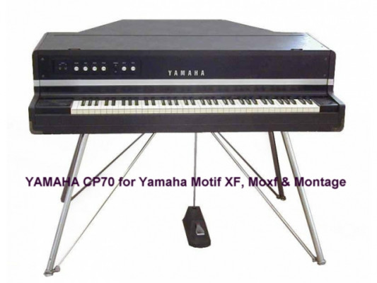 YAMAHA CP70 PIANOS para Yamaha Motif XF, Moxf, Montage y Modx