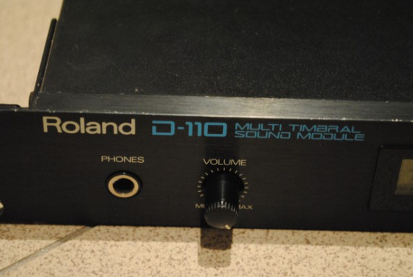 Sintetizador Roland D-110
